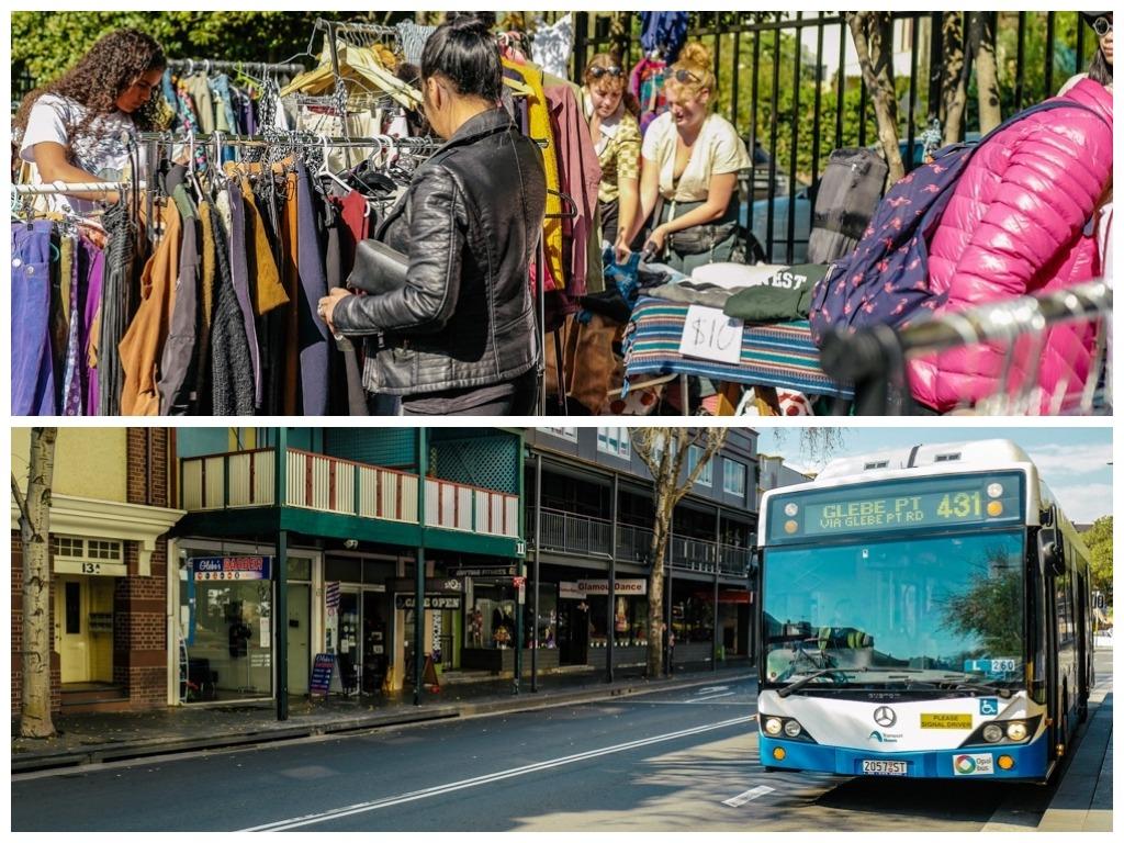 Sydney Tour Empfehlungen Australien City Trip Glebe Market