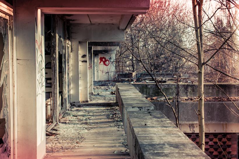 Spuren der Zeit: Die verlassene irakische Botschaft Berlin