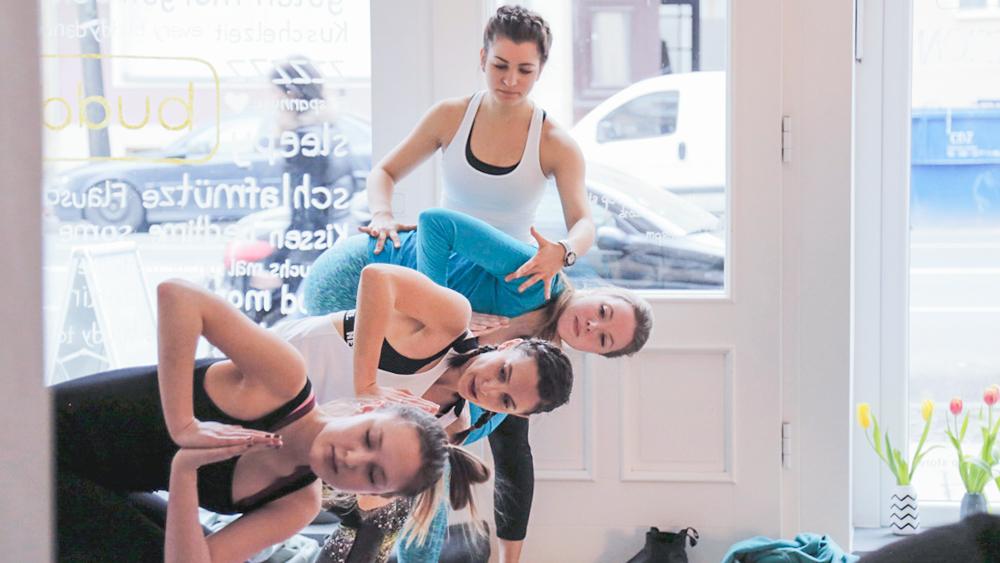 Der 30 Tage Yoga Challenge von Mady Morrison - Januargedanken