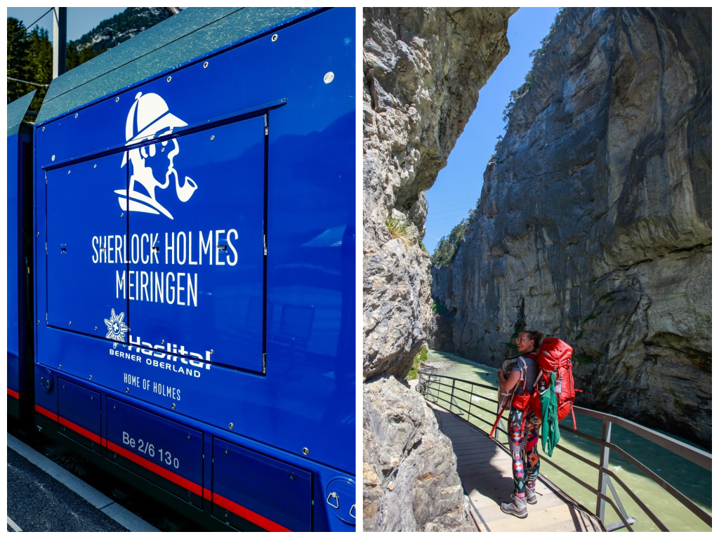 Sherlock Holmes, Schweiz, Haslital, Aareschlucht