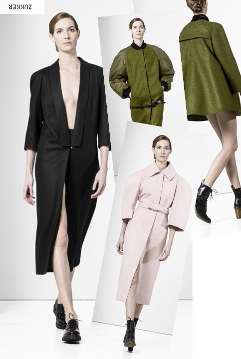 Gib den Modemädchen ZUKKER! - Exzentrische Mäntel aus deutschem Hause