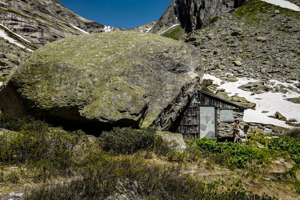 Schutzhütte Gelmersee
