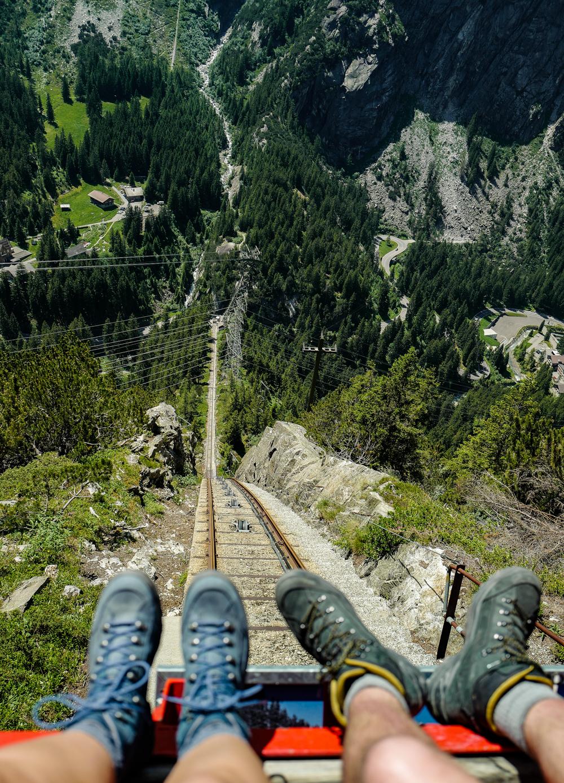 Gelmerbahn zum Gelmersee