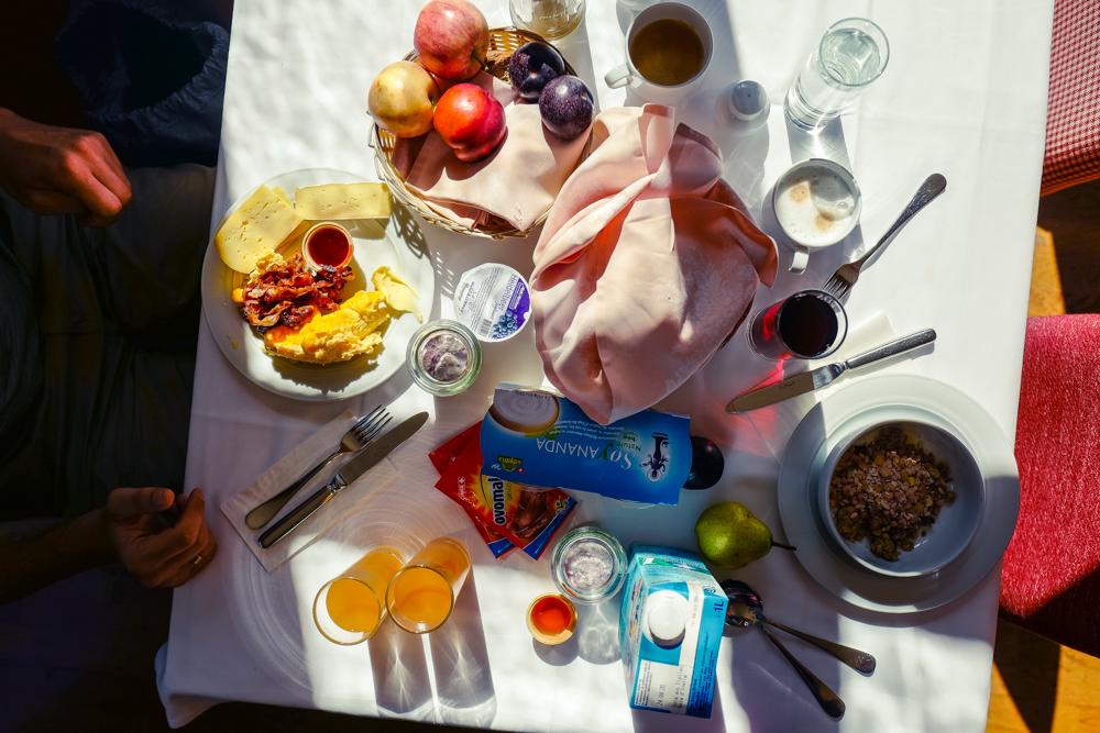 Frühstück Hotel Handeck