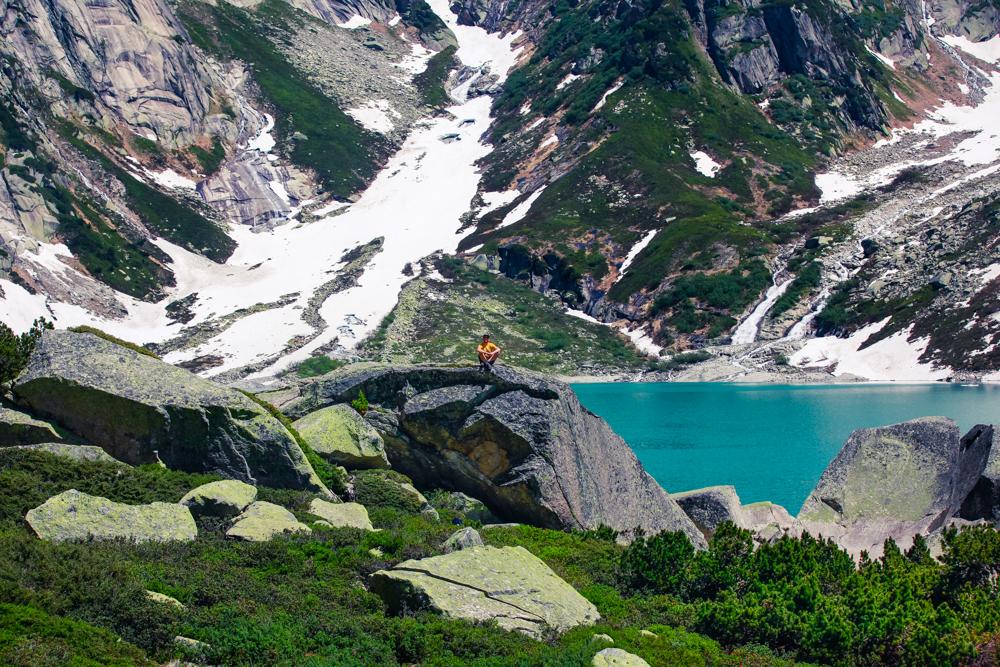 Bergpanorama Gelmersee