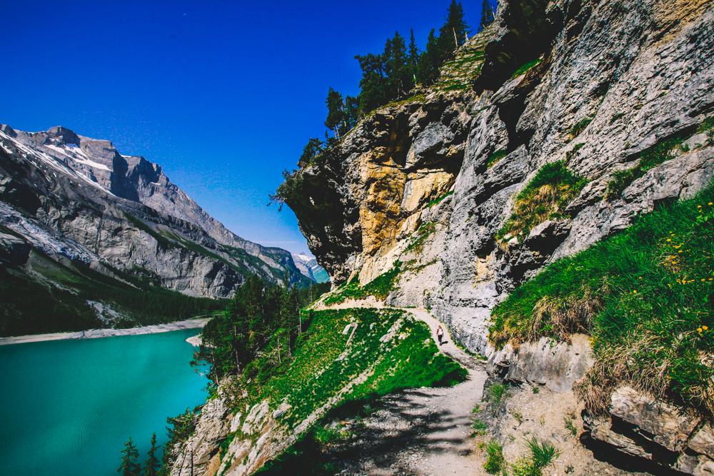 Wanderung Oeschinensee Route Tipps