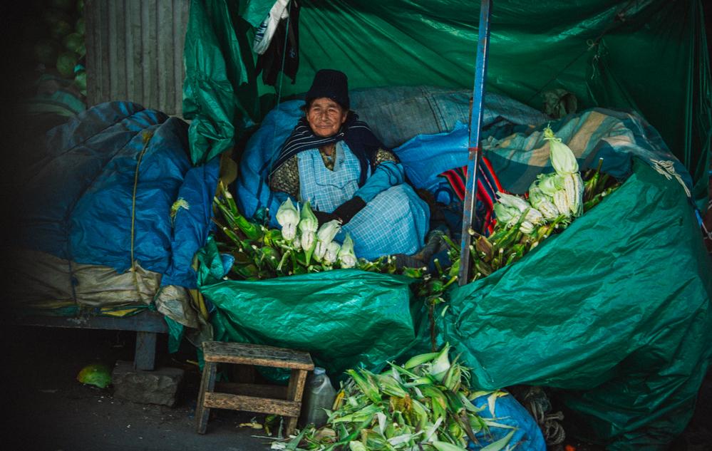 Bolivien Markt La Paz