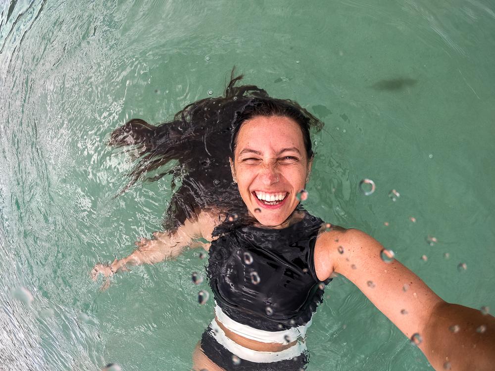 Camping m Whitehaven Beach Queensland Australien