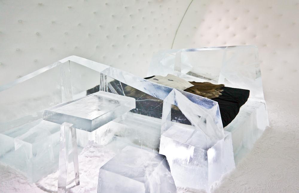 Eine unvergessliche Polarnacht im ICE HOTEL Jukkasjärvi
