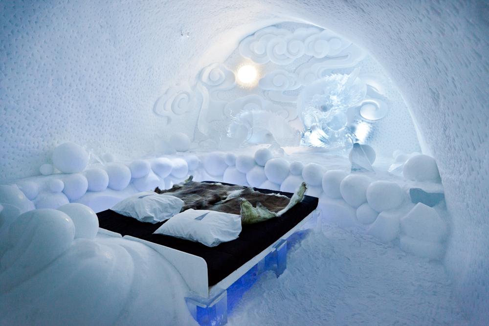 Eine unvergessliche Polarnacht im ICE HOTEL Jukkasjärvi FSD FOTO