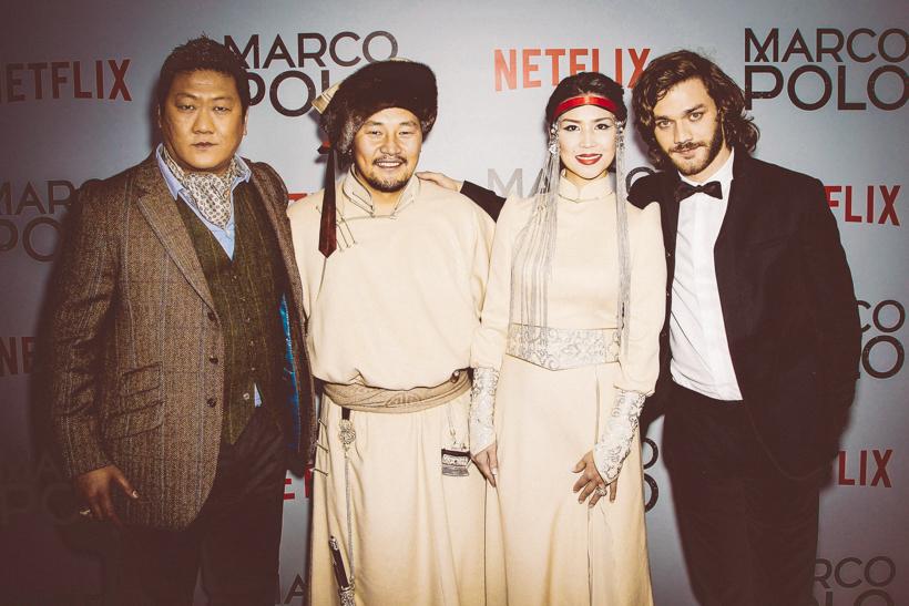 Freedi goes Hollywood - Ähh New York! Auf der MARCO POLO Filmpremiere von NETFLIX wird mit den Stars geschwätzt!