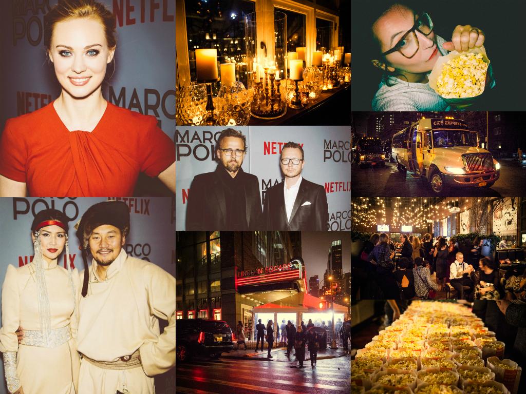 Freedi goes Hollywood - Ähh New York! Auf der MARCO POLO Filmpremiere von NETFLIX wird mit den Stars geschwätzt & gekuschelt!