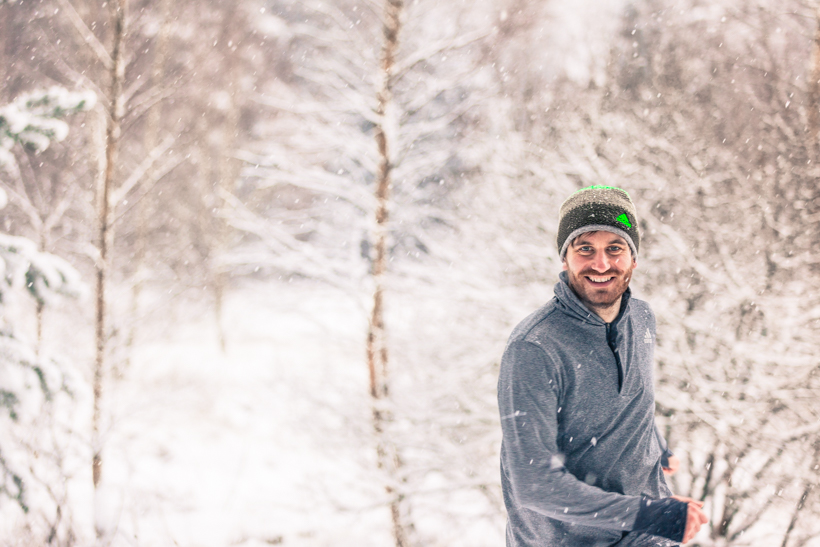 Unser Training im Schnee: Zwischen weißen Flocken & Einem Haufen Neujahresvorsätzen #BoostyourRun