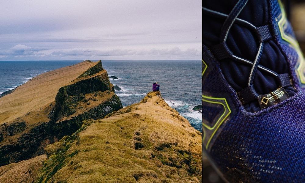 Auf den Faroe Islands unterwegs mit GORE-TEX® SURROUND® Schuhe von LOWA