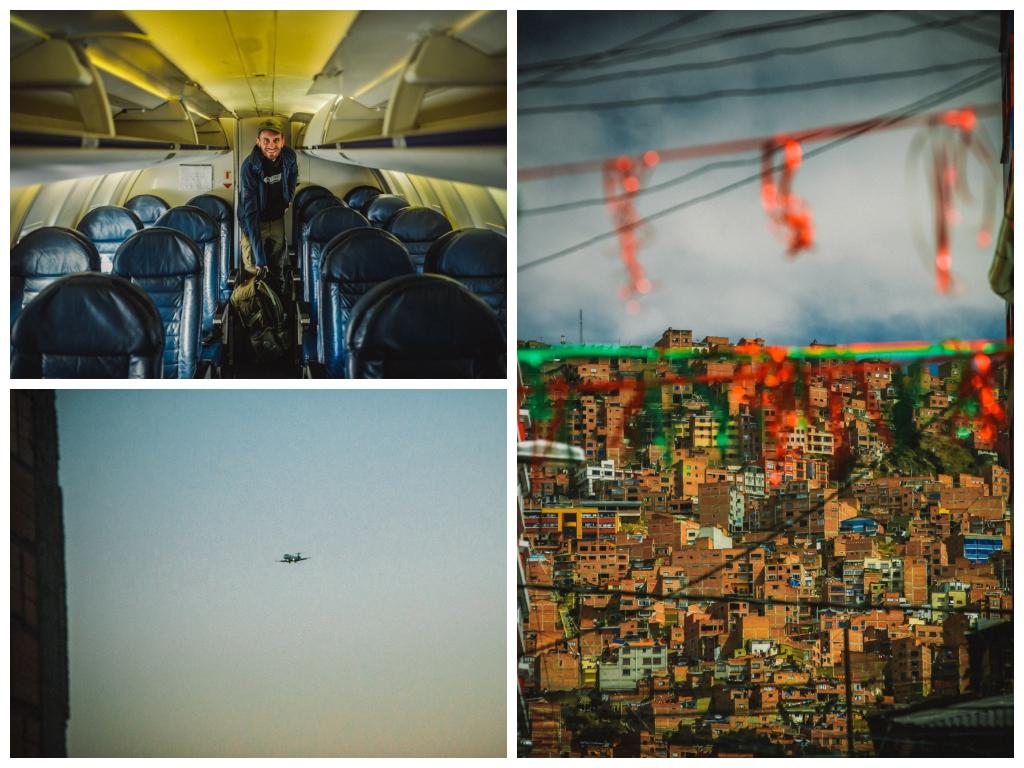 Flug La Paz Bolivien