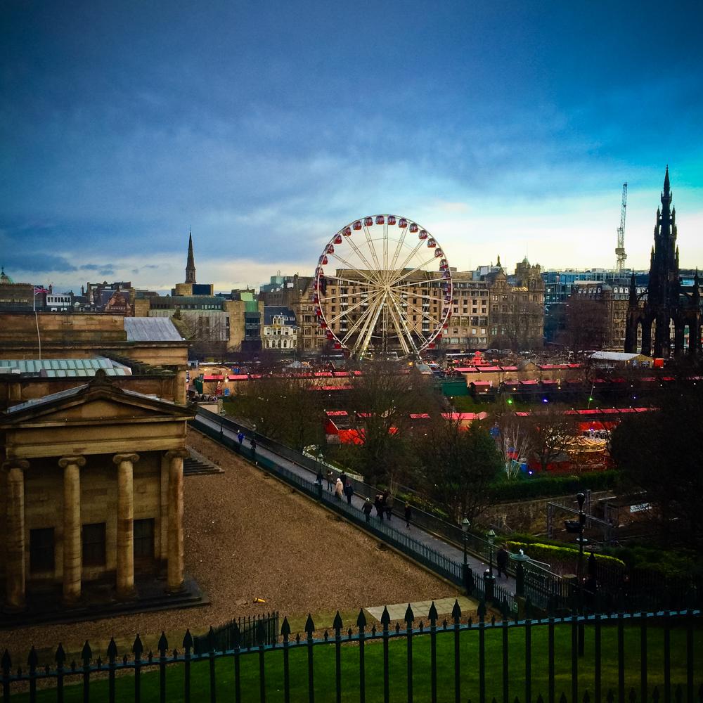 Mein Wochenende Edinburgh
