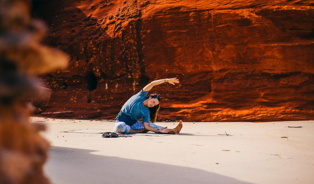 Yoga nur für mich und mit mir zu praktizieren