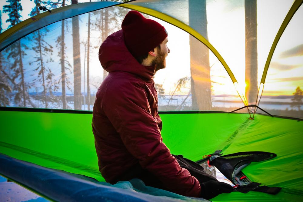 Das Zelt stellt für mich eines der wichtigsten Accessoires in meinem Leben dar: Vom Tipps zum Schwebezelt
