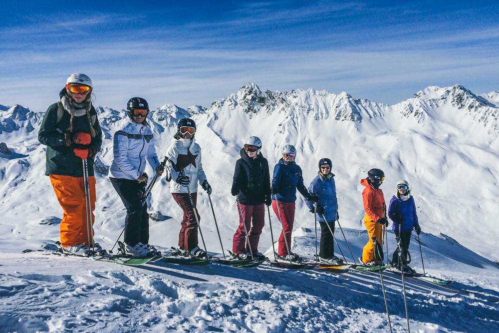 Ein Must-Do für alle Schneeköniginnen: Freeriden lernen in Ischgl