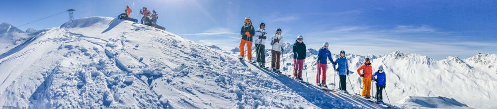 Freeriden für Ladies: Der Einstiegskurs an der Ski-Schule Ischgl