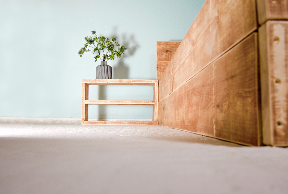 Möbel aus Baubohlen von JOHANENLIES