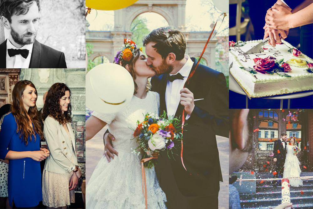 Unsere Hochzeit in Berlin: Wir möchten dieses STÜCK VOM GLÜCK mit euch teilen!