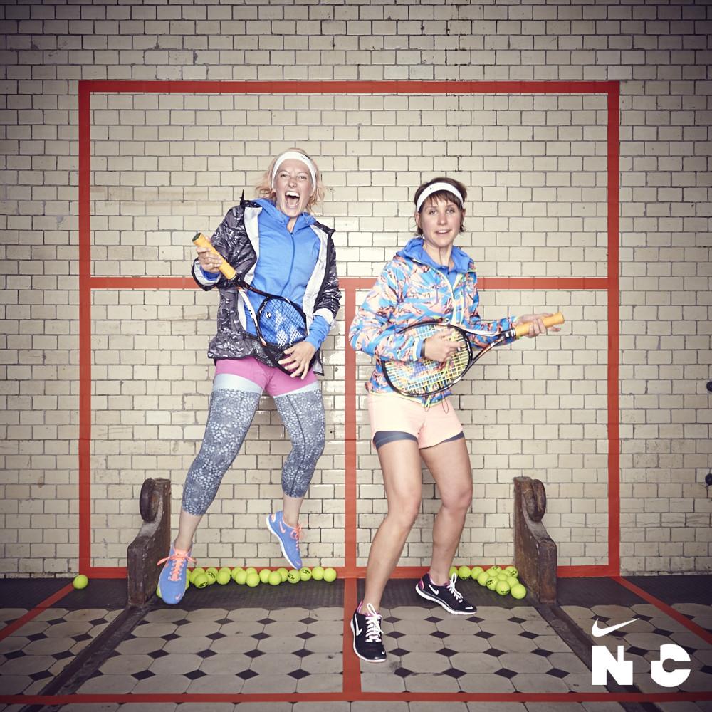 NIKE MARATHON BATTLE – NICOLETTE VS. FRIEDERIKE