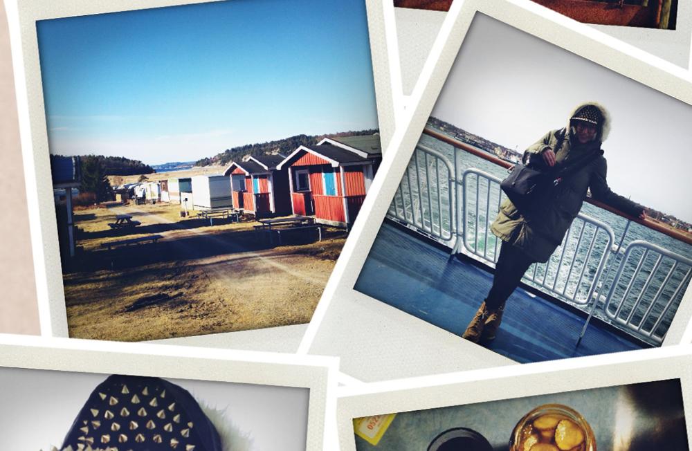 INSTA-SCHNAPPSCHUSS-ACTION im skandinavischen Urlaubstaumel FSD FOTO