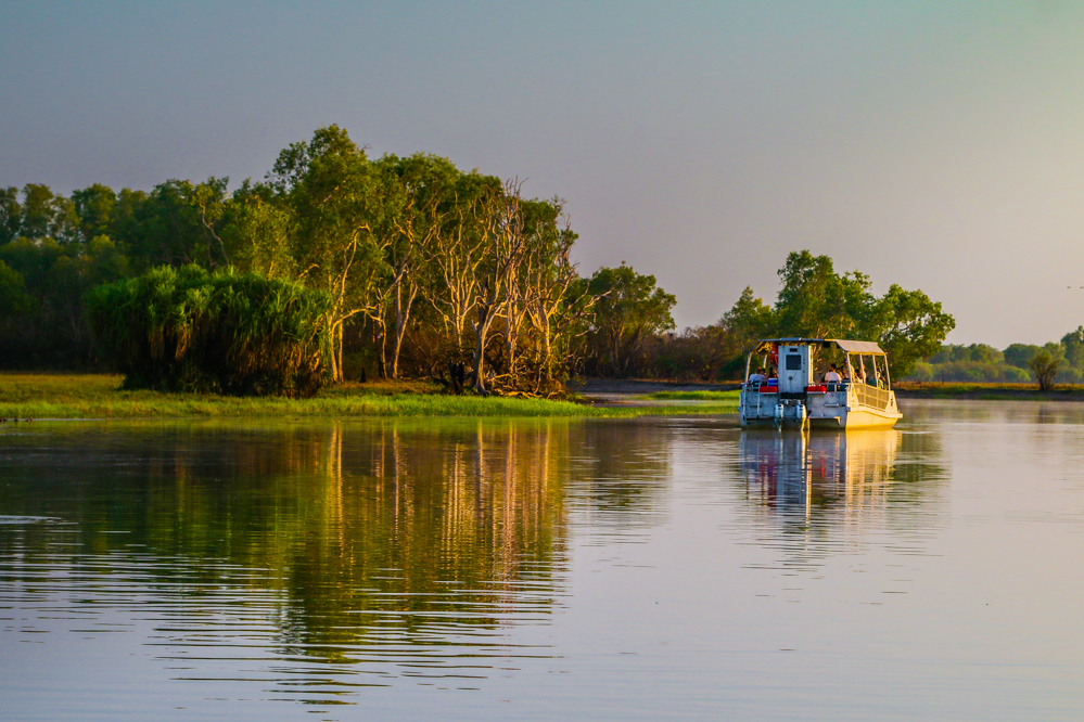 Yellow Water Cruises Tour im Kakadu Nationalpark