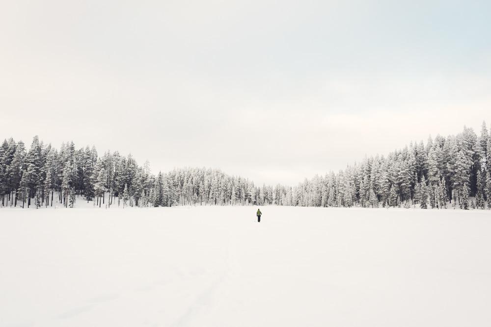 Schneeschuhwanderung Schweden Lappland Johannes Kormann Outdoor Guide