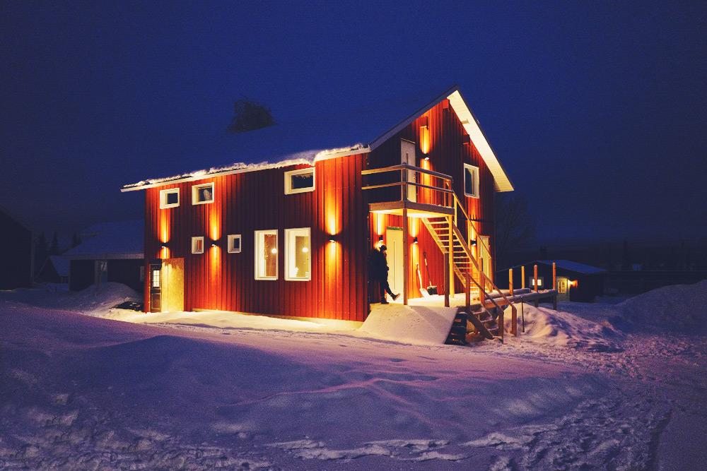 Schweden im Winter