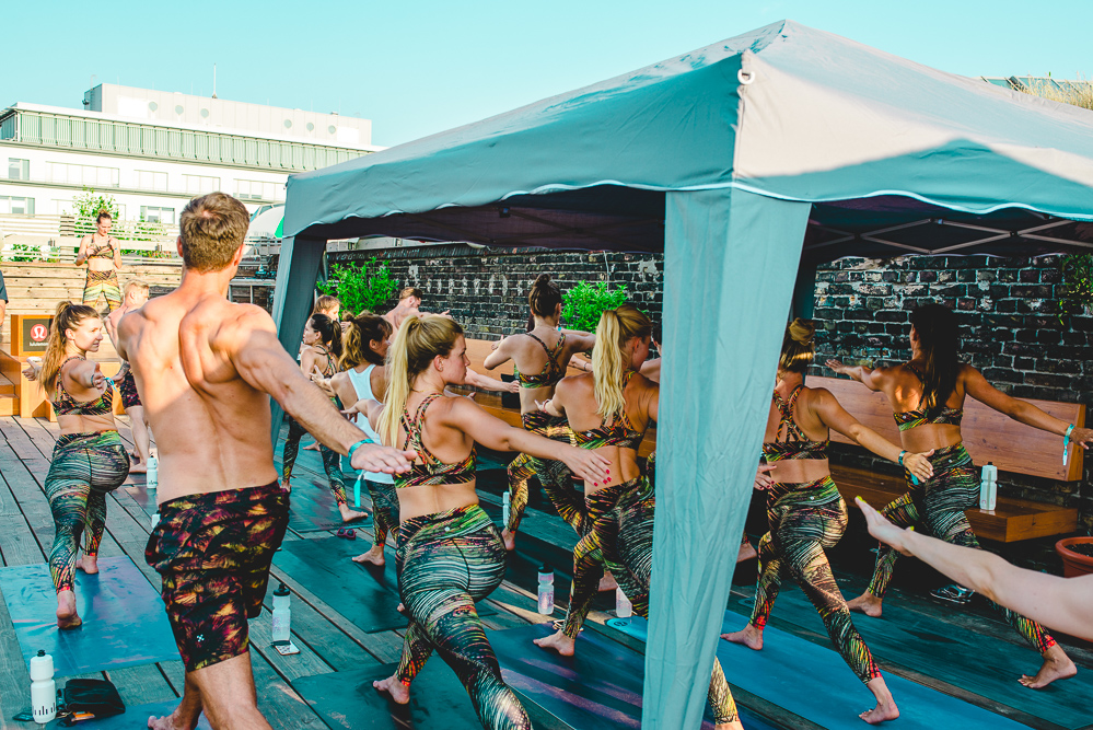 Lululemon Sweatlife Festival Berlin 2018