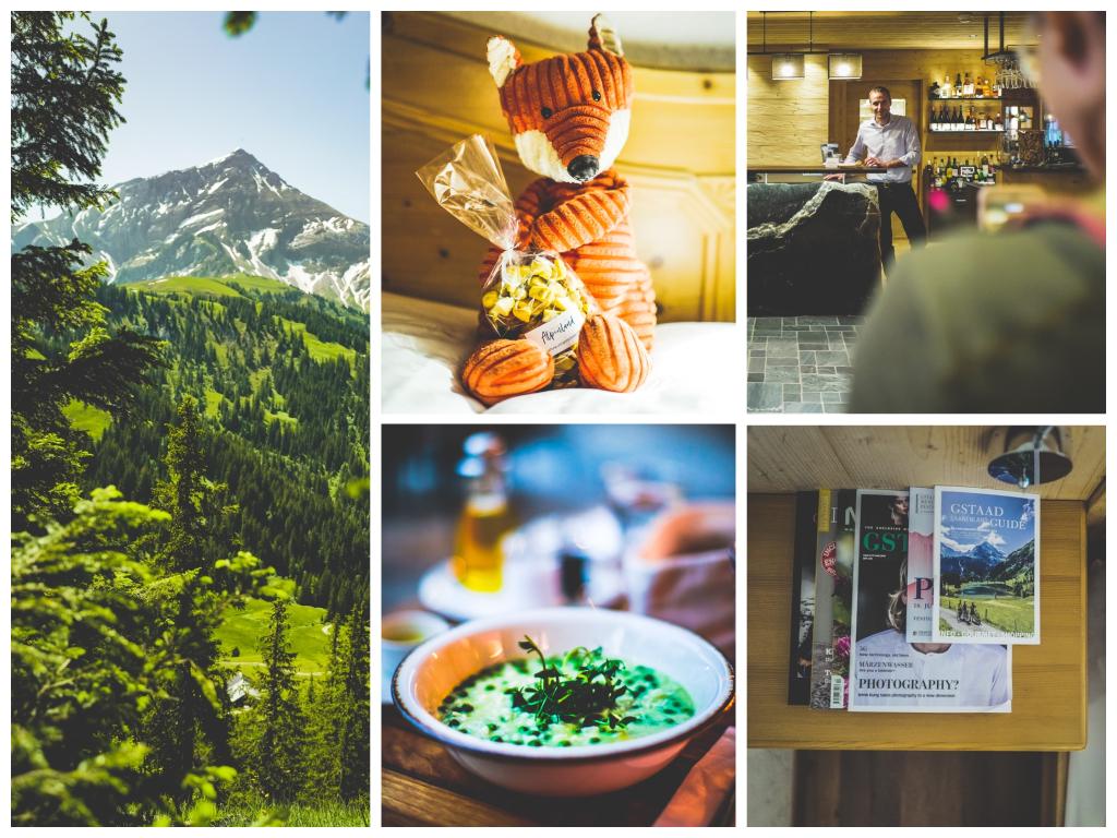 Das Hotel Alpenland