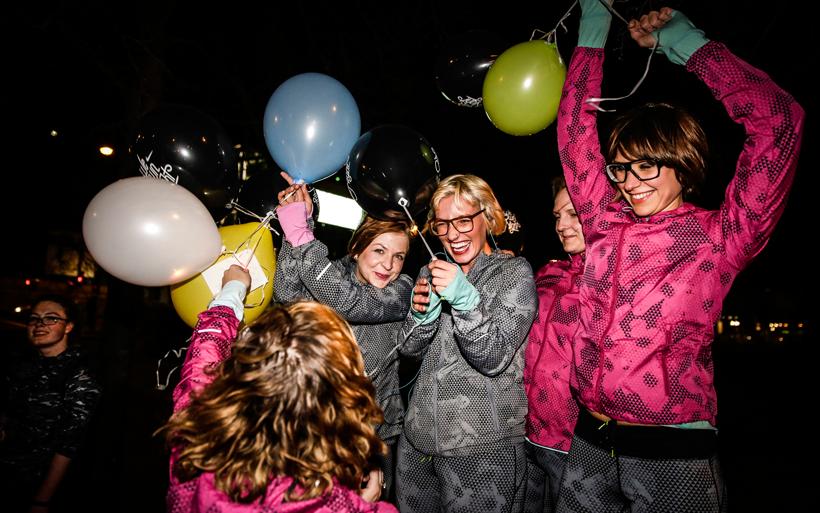 Wir schwitzen, schnattern & schnabulieren beim NIKE Running Kick Off Event für WE OWN THE NIGHT im SOHO HOUSE Berlin