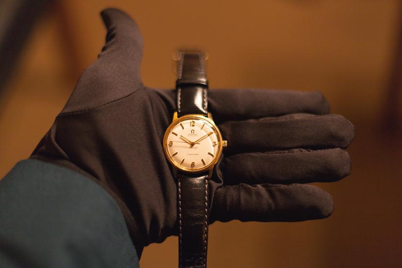 OMEGA Uhren Vintage Time. Ein amüsanter Abend in der PAN AM SUITE.