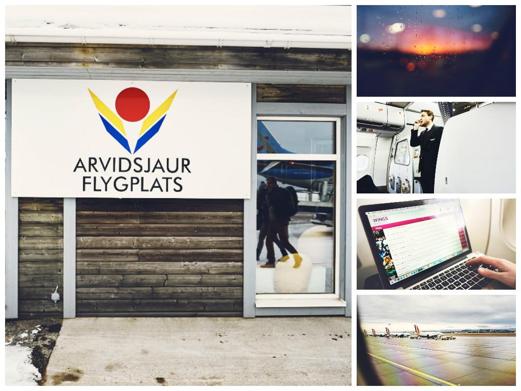 Arvidsjaur Pro Sky Flug