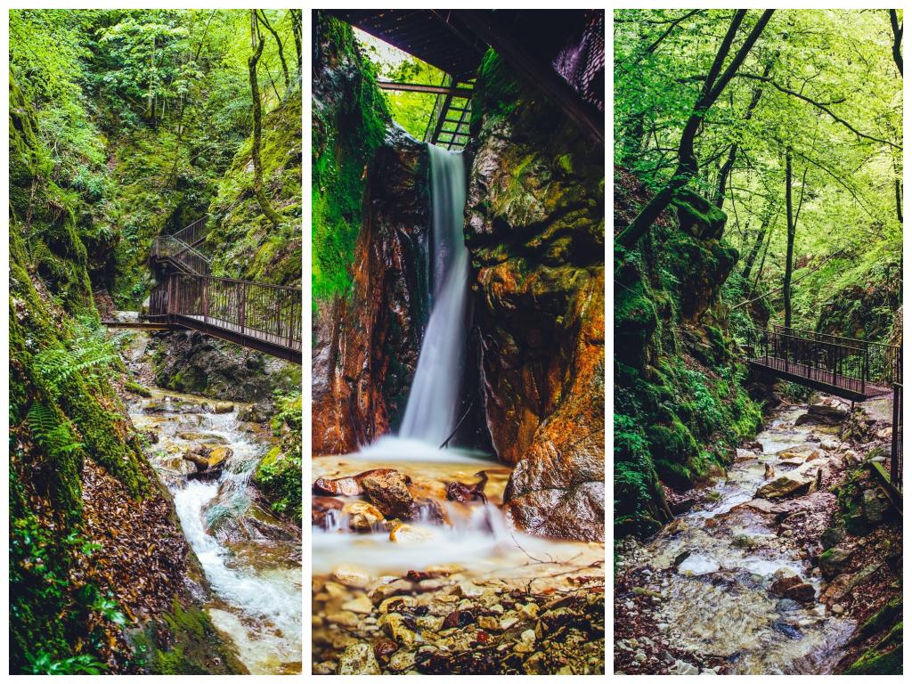 Die Wanderung durch die Rastenbachklamm von Altenburg zum Kalterer See