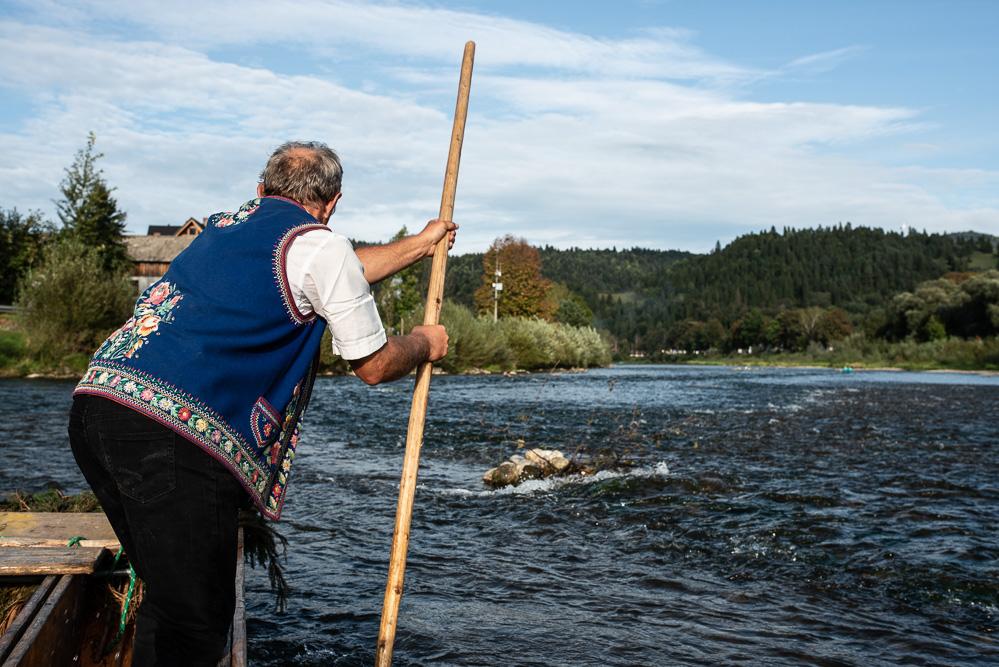 Roadtrip-Karpaten-Slowakei-Dunajec river Floß Rafting
