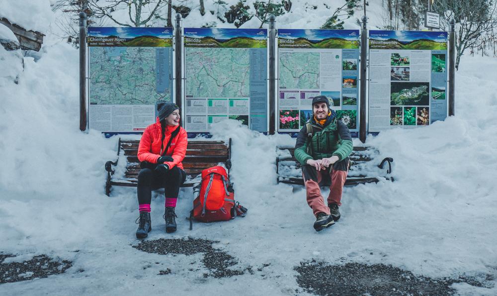 Schneeschuhwanderung reit im Winkel 17