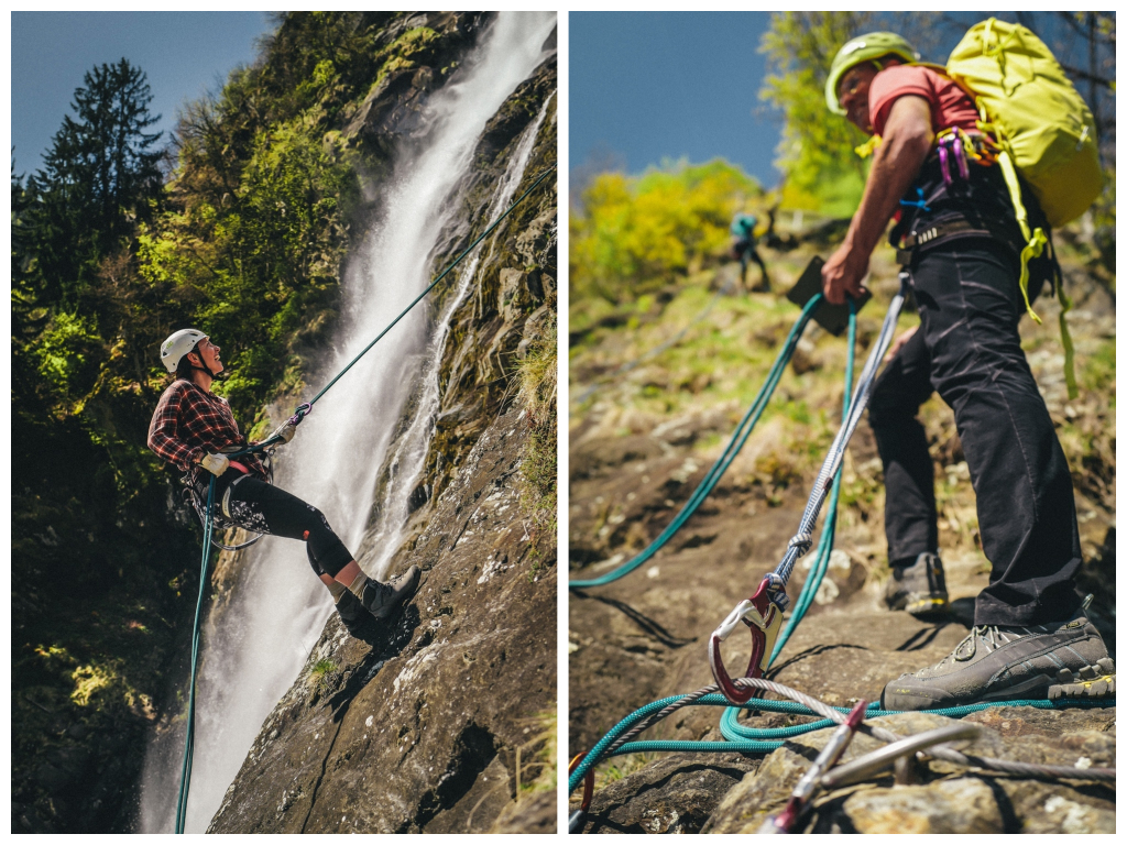 Mein Balance Tag rund um den Partschinser Wasserfall