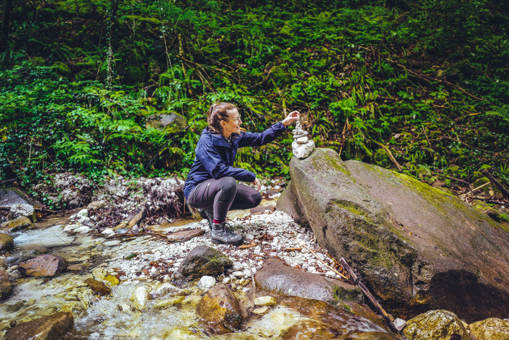 Rastenbachklamm von Altenburg zum Kalterer See Wanderung