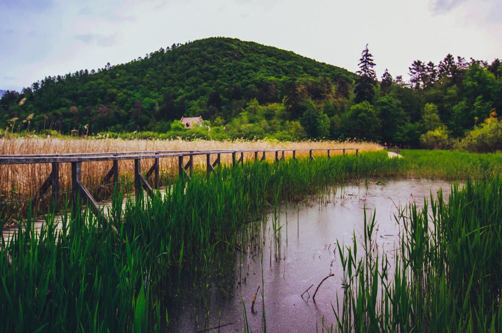 großen und kleinen Montiggler See.