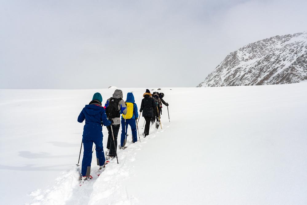 Schnalstal Schneeschuhwandern Freiseindesign