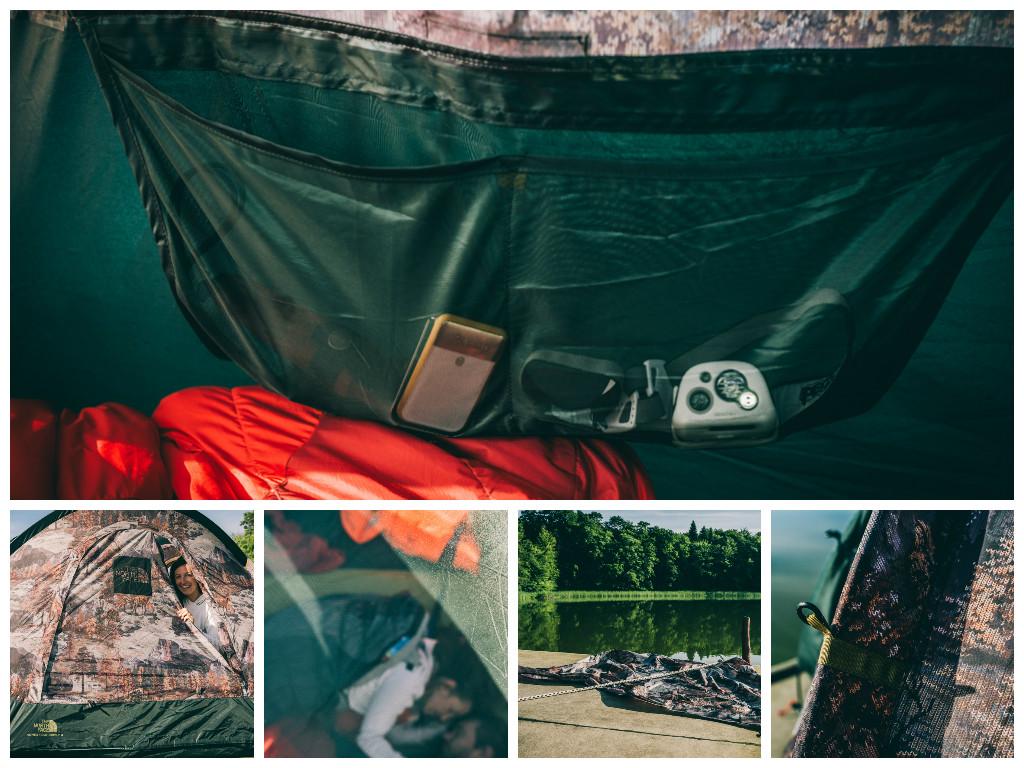 Weekend Basecamp mit The Northface Hausfloß Treibgut Brandenburg