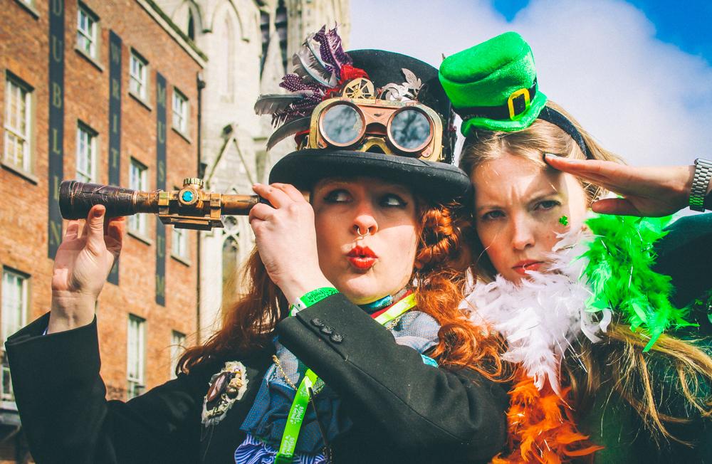 "Wir feiern Irlands ""Happiest Day"" - St. Patrick's Day in Dublin!"