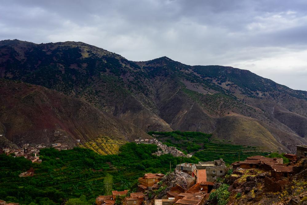 Wandern im Atlasgebirge Kasbah Toubkal