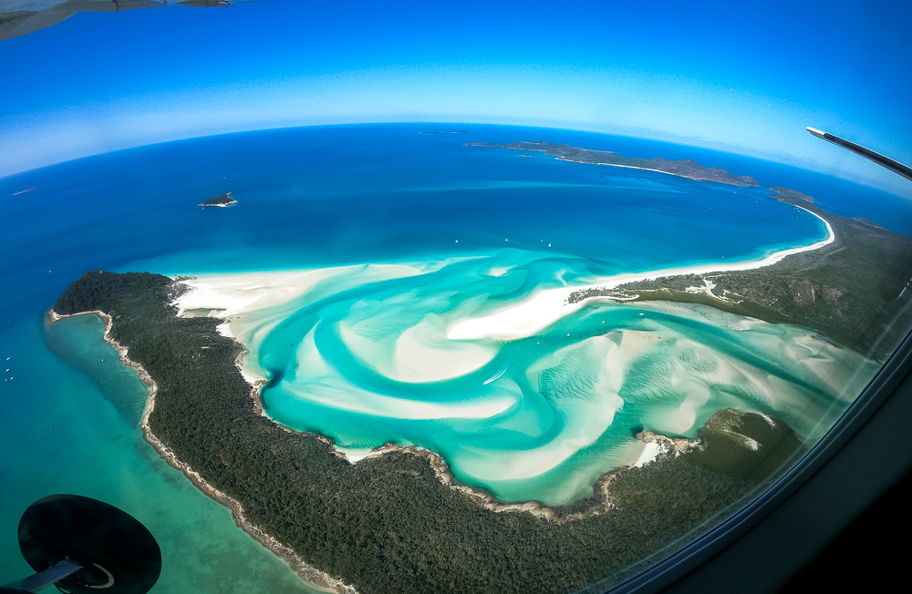 Whitsunday Islands Rundflug mit GSL Aviation