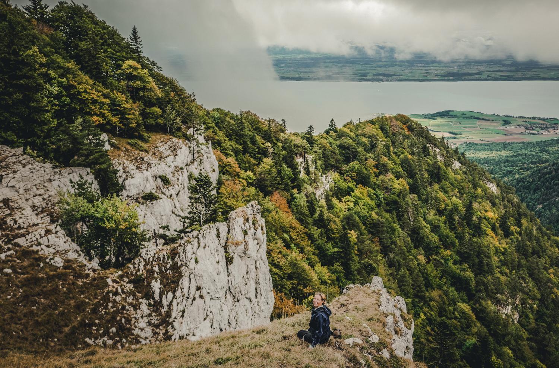 Jurahöhenweg in der Schweiz