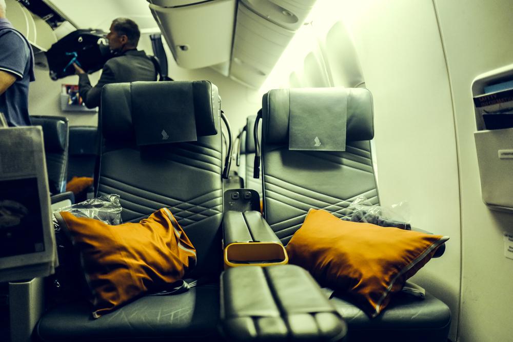 singapore airlines Erfahrungsbericht Blog Freiseindesign Premium Economy