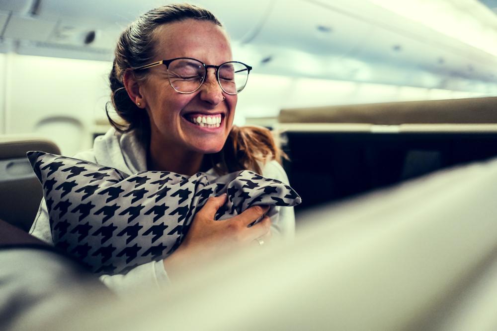 singapore airlines Erfahrungsbericht Blog Freiseindesign